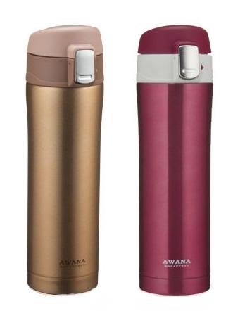 【百倉日本舖】AWANA 彈蓋式保溫瓶 保溫杯420ml/MD-420