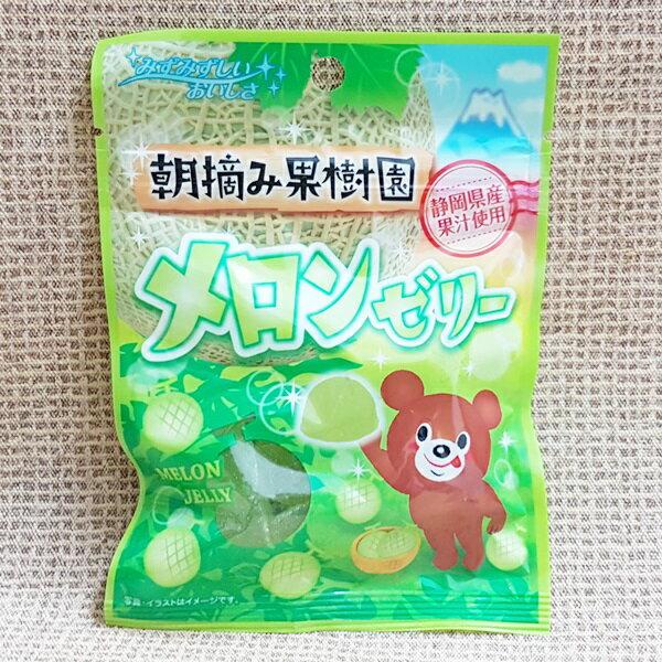 (日本)八仙製果哈密瓜軟糖1組2包(45g*2包)特價100元【4903089650455】
