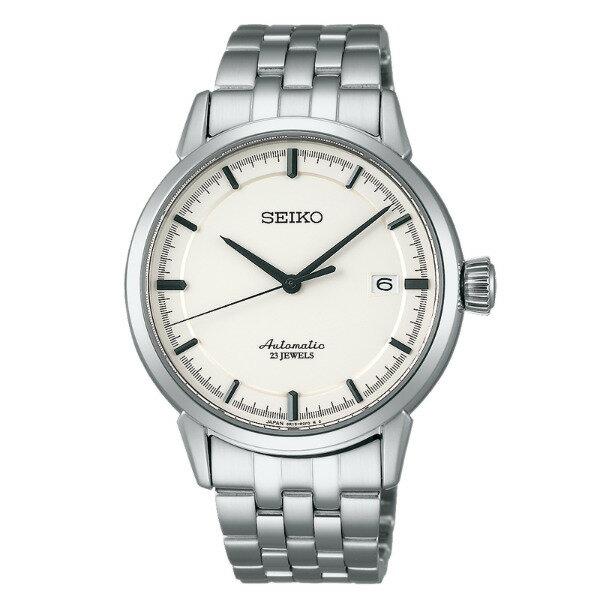 Seiko Presage 6R15-02Y0S(SARX021J)城市簡約日曆機械腕錶/米白面40mm