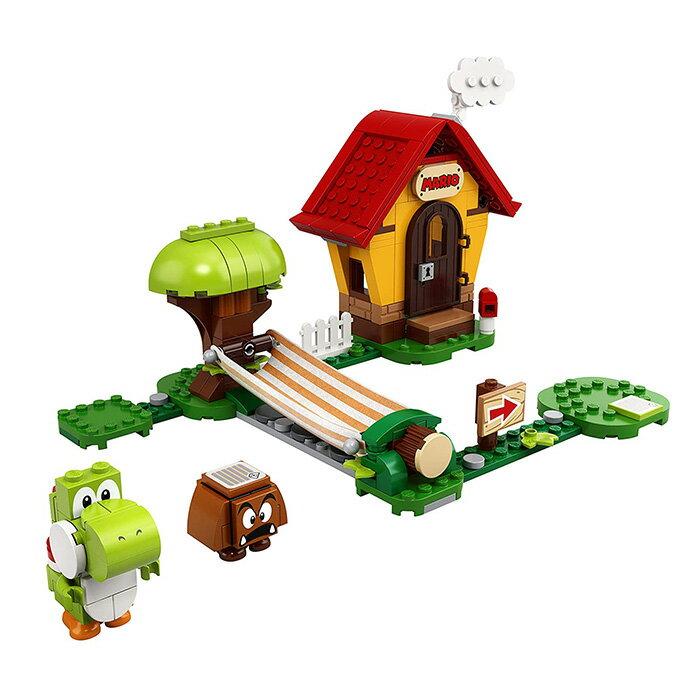 LEGO 樂高 SUPER MARIO 超級瑪利歐 71367 瑪利歐之家 & 耀西 【鯊玩具Toy Shark】