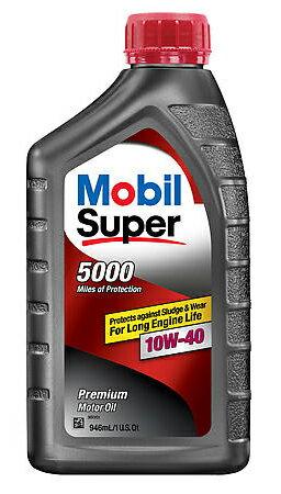 Mobil 1 Super 5000 10W40 合成機油 #7026