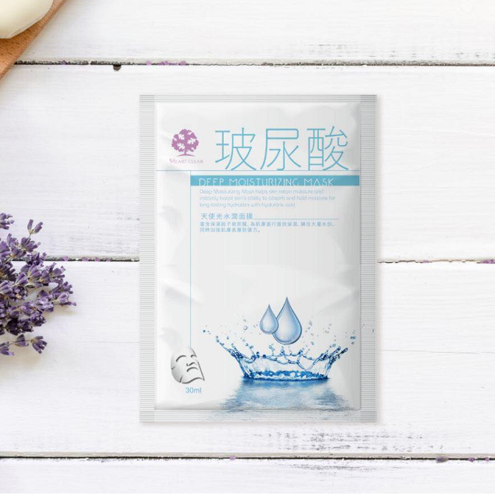 Heart Clean-天使光水潤保濕面膜30ml/團購 / 敏感肌適用、高效保濕、好上妝【 心心晴幸福合作社】