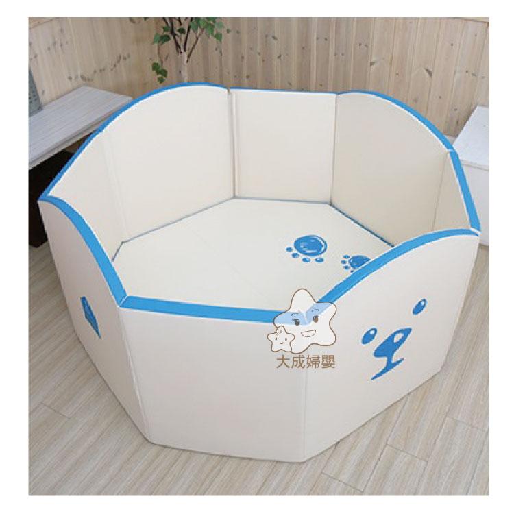【大成婦嬰】RETRO 奶酪城堡-冰雪高牆城堡-黃、藍 (138X138X75cm) 2