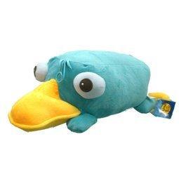 【真愛日本】14052300005 12吋全身趴姿-泰瑞 飛哥與小佛 鴨嘴獸泰瑞 娃娃 懶骨頭 靠枕
