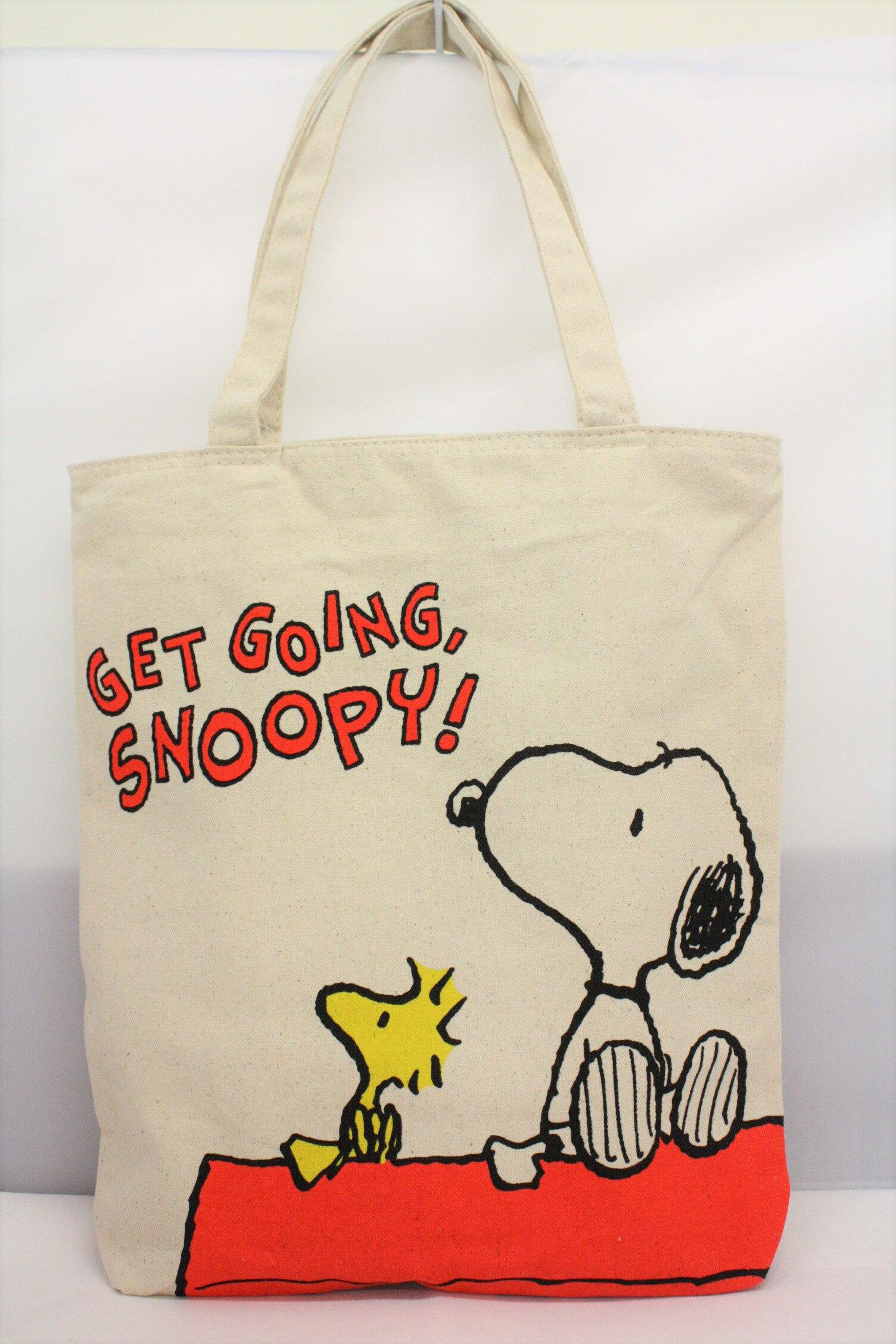 大賀屋 史努比 帆布袋 手提袋 包包 購物袋 糊塗塌客 Snoopy 日貨 正版 授權 J000400014