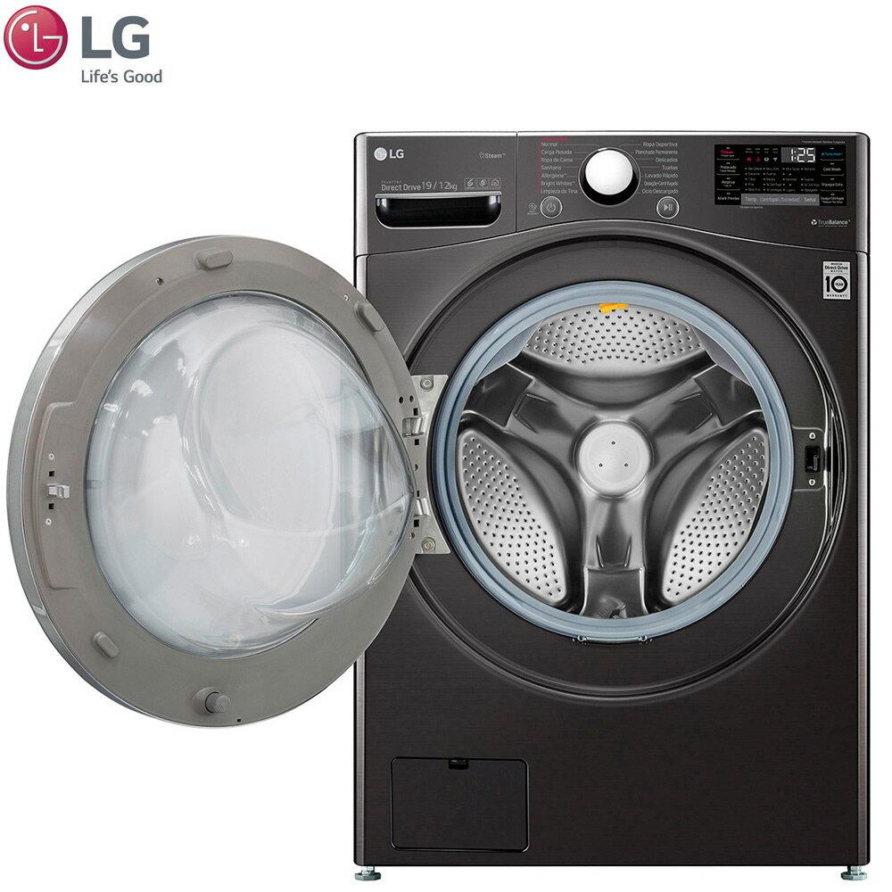 LG 樂金 WD-S19VBS 滾筒洗衣機 19公斤 WiFi 蒸洗脫烘 尊爵黑