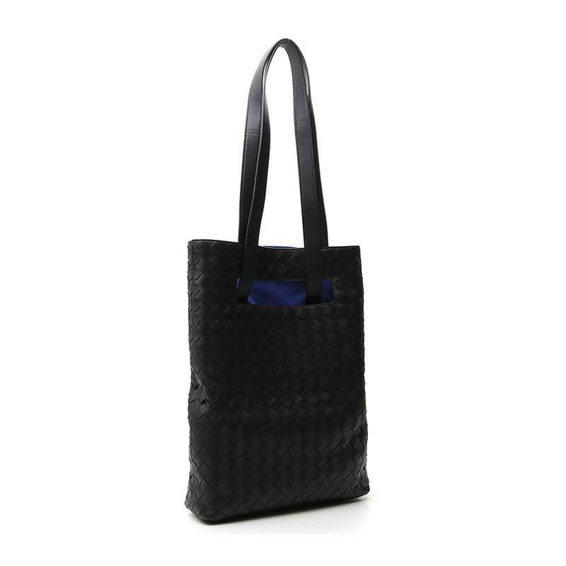 【Chiu189英歐代購】BOTTEGA VENETA 寶緹嘉 男手提包 BV托特包 黑色 編織皮革
