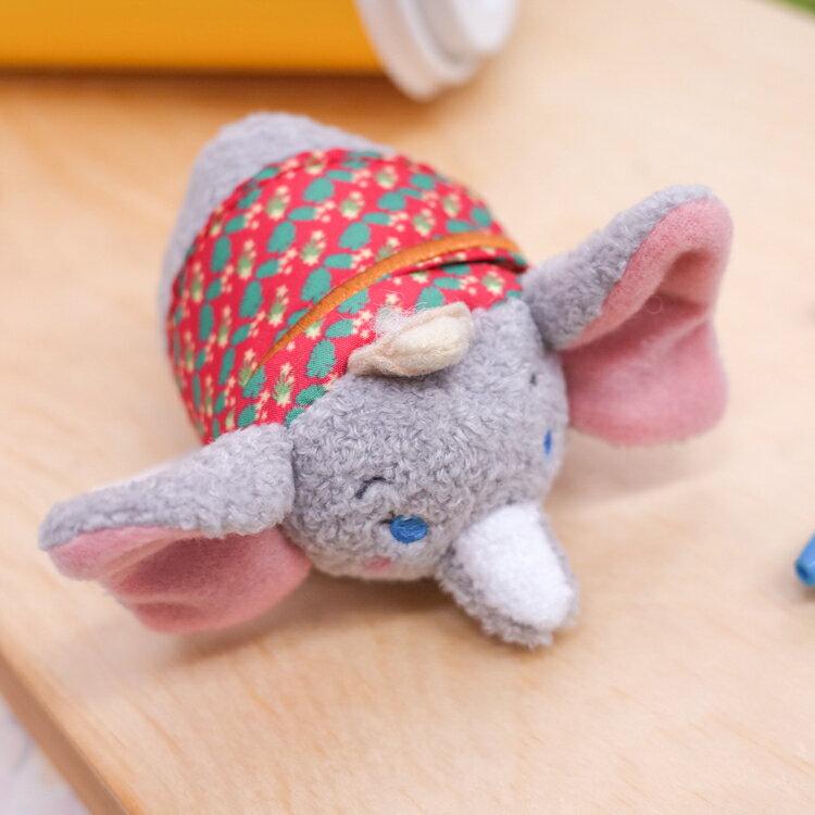 PGS7 日本迪士尼系列商品 - 日本 進口 TSUM TSUM 小飛象 攝影師 疊疊樂 沙包 娃娃【SJD71065】