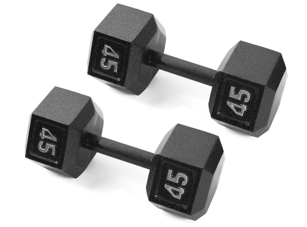 447344b2b30 The Warehouses  CAP Barbell Cast Iron Hex Dumbbell