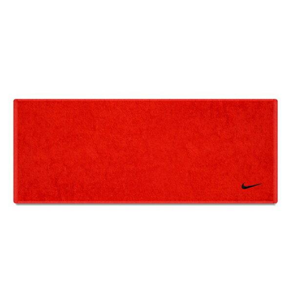 【滿額領券折$150】NIKE【AC9637-631】毛巾 運動毛巾 LOGO 盒裝 純棉 小勾電繡LOGO 紅色