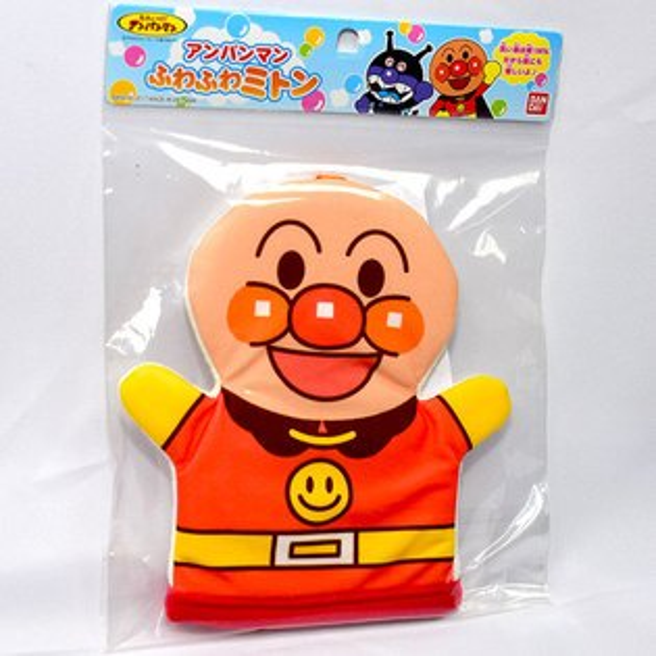 NOBA 不只是禮品:麵包超人沐浴手偶洗澡好好玩日本帶回BANDAI正版品