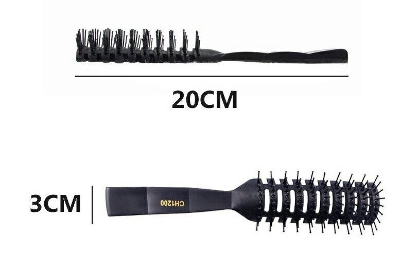 PS Mall 髮廊專業耐高溫防靜電卷髮美髮九排排梳子【H340】 5
