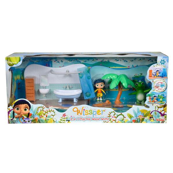 《Wissper神童小語》水世界二合一場景組