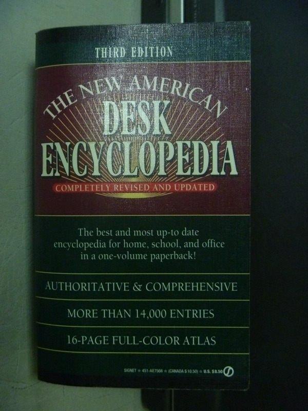 【書寶二手書T5/原文小說_ODY】THE NEW AMERICAN DESK ENCYCLOPEDIA_1993
