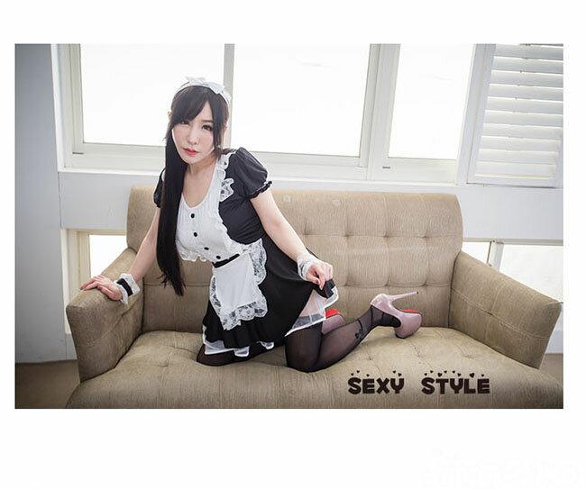 女僕 角色扮演清純性感女僕裝COSPLAY服裝 女傭制服派對服 流行E線A462