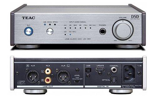 {音悅音響MUSIC HI-FI}日本 TEAC UD-301 家用耳機擴大機 前級 解碼器 DAC 黑/銀