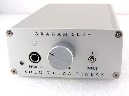 {音悅音響MUSIC HI-FI}GRAHAM SLEE SOLO Ultra-Linear diamond edition 家用耳機擴大機 音悅代理 公司貨