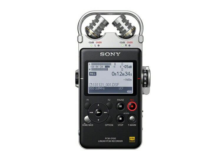 {音悅音響MUSIC HI-FI}SONY PCM-D100 線性PCM專業高品質錄音機