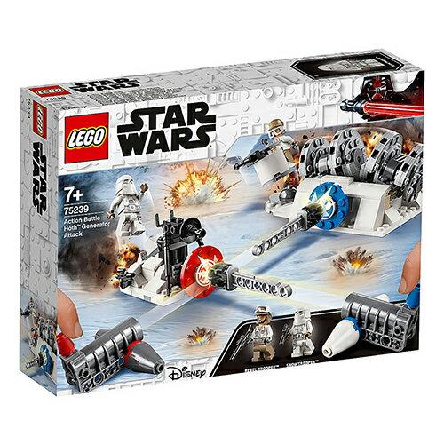 樂高LEGO 75239 星際大戰系列 - Action Battle Hoth Generator Attack - 限時優惠好康折扣