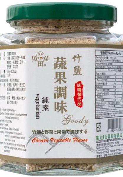 川田佳 竹鹽蔬果調味料 150g 原價180-特價$169 純素 新鮮的蔬果調味 結合竹鹽 韓國頂級三回烤竹鹽