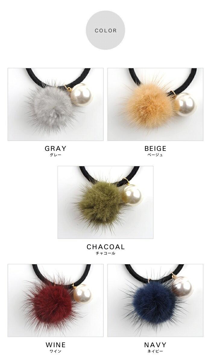 日本CREAM DOT  /  可愛毛毛髮圈 髮帶  /  qc0113  /  日本必買 日本樂天直送(990) 2