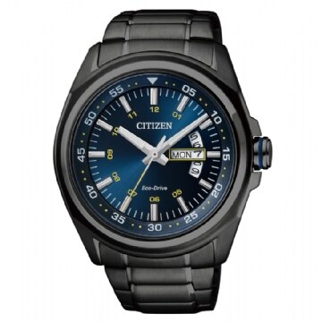 CITIZEN 時尚品味光動能腕錶 AW0024-58L