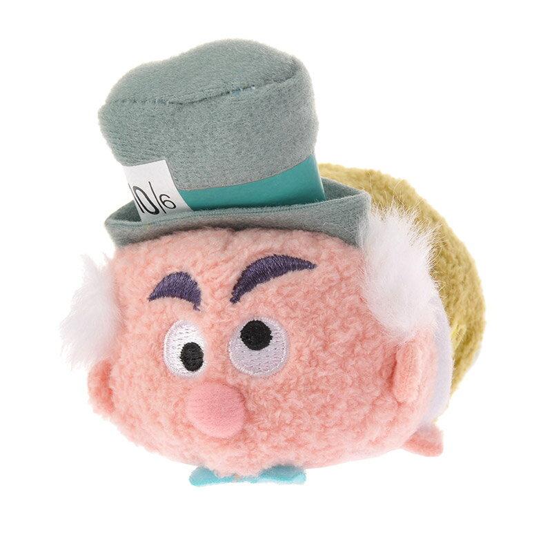 【真愛日本】16082200011 專賣店限定tsum娃S-瘋帽子2   迪士尼 愛麗絲夢遊仙境  疊疊樂  手玉娃娃