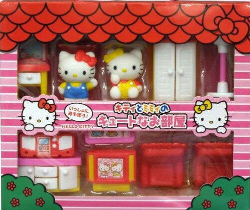 【真愛日本】17041600006 家家酒傢俱組-KT 三麗鷗 KITTY 凱蒂貓 玩具 親子遊戲