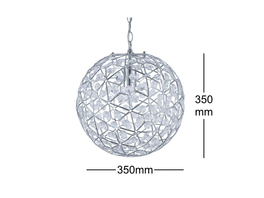 圓形幾何圖案壓克力吊燈-BNL00069 9