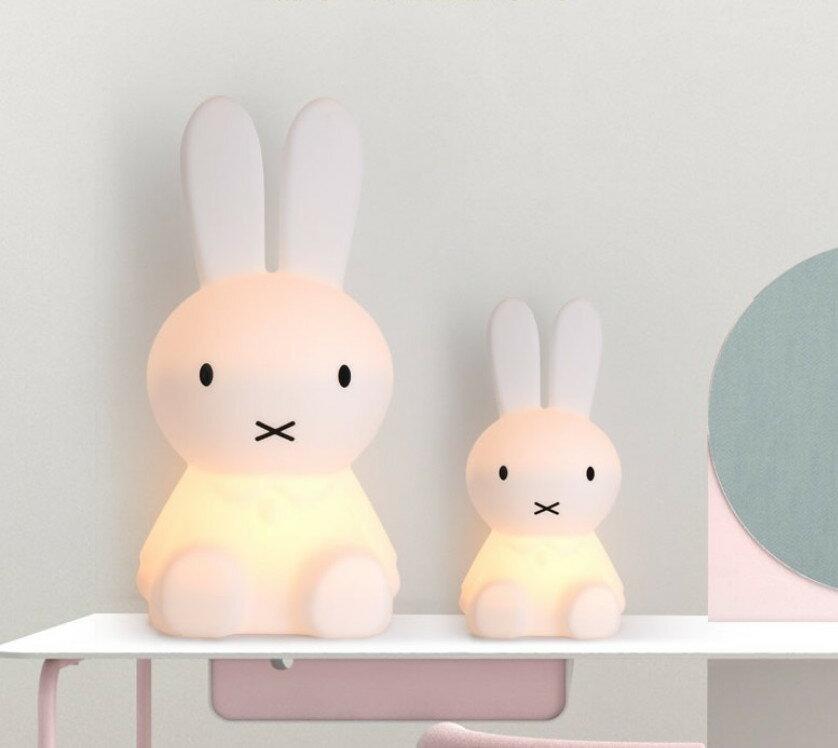 Miffy米菲兔坐姿擁抱燈 【50cm高】 遙控充電款非一般插電款 2