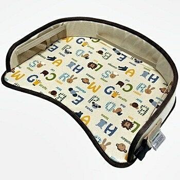 小烏龜精品童裝店:寶貝出遊必備好物ORGANICFACTORY隨行桌-咖啡字母