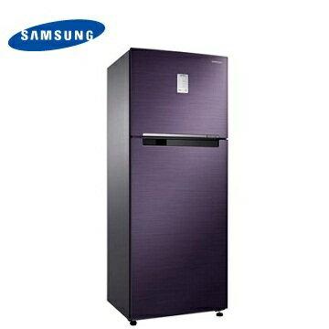 SAMSUNG 462公升紫晶藍極簡雙門冰箱(RT46H5205UT/TW)