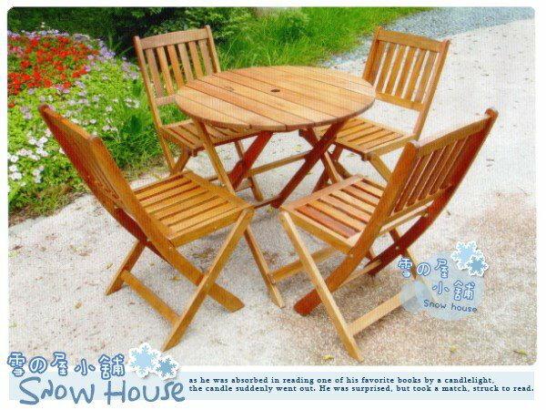 ╭☆雪之屋小舖☆╯南洋實木折合椅/ 庭院休閒座椅/ 實木公園椅/導演椅**不含桌