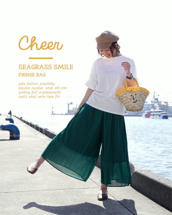 日本e-zakka / 流蘇微笑設計手提包 / 21103-1900075 / 日本必買 代購 / 日本樂天直送(4500) 3