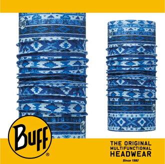 BUFF 西班牙魔術頭巾 經典系列 [水藍湖紋] BF113080-707-10