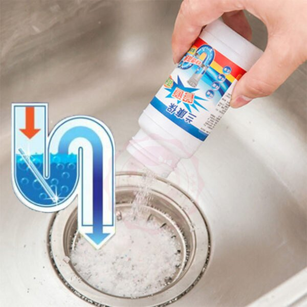 LKB 強效管道疏通劑 水管疏通劑(110g)【庫奇小舖】