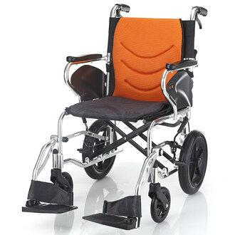 均佳 機械式輪椅 JW-350 看護型 贈好禮