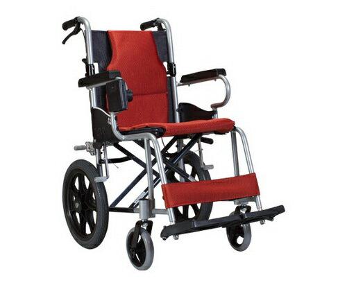 康揚 鋁合金輪椅 KM-2500 超輕便看護型 鋁合金手動輪椅 贈好禮三選一