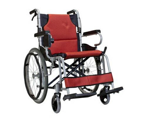 【 贈好禮 四選一 】康揚 鋁合金輪椅 KM-2500L 日式輕量型 鋁合金手動輪椅