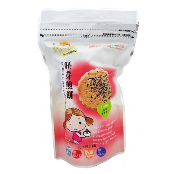 集賢庇護工場 愛天然 胚芽煎餅 160gx2包