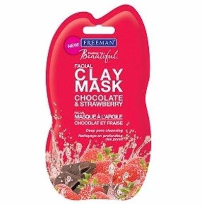 美國 Freeman 巧克力草莓細嫩拉提面膜 15ml *夏日微風*