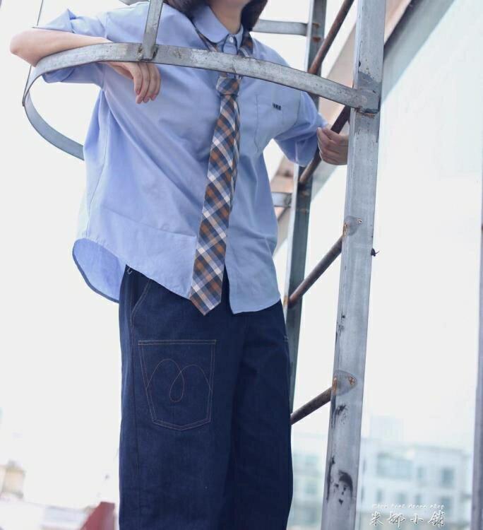 夯貨折扣! old pumpkin   日系 學生  學院 工裝 休閒 學生 格子領帶