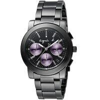 agnès b.眼鏡推薦到agnes b. 自信滿分計時腕錶 VD53-KP30P BT3032X1就在寶時鐘錶推薦agnès b.眼鏡