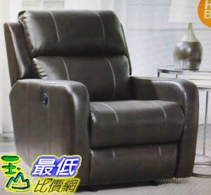 [COSCO代購 如果售完謹致歉意] W1049337 Pulaski 電動牛皮躺椅