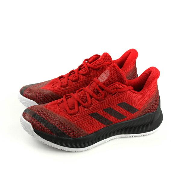 adidasHardenBE2J籃球鞋運動鞋紅色大童童鞋AC7642no613