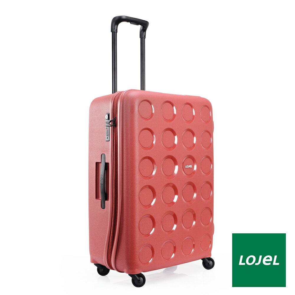 【日本 LOJEL】日本設計 28吋 酒紅色 PP VITA 拉鍊(登機 行李箱 / 旅行箱)