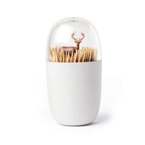 喜鵲先生1號店:牙籤罐(草原馴鹿)