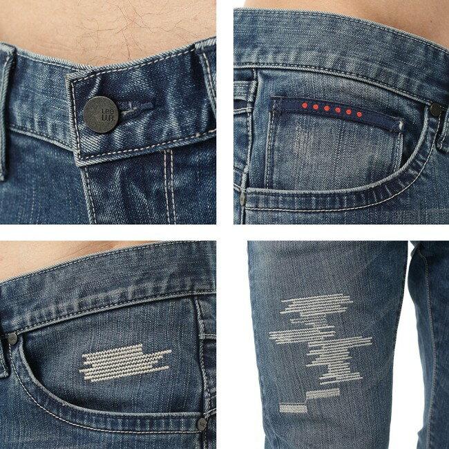 Lee Magma 709 低腰合身小直筒牛仔褲 3
