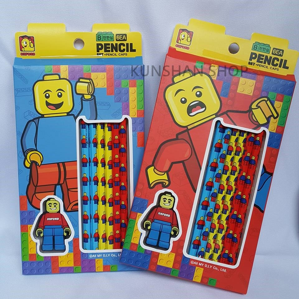 【崑山玩具】LEGO樂高六入鉛筆組