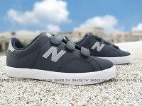 New Balance 美國慢跑鞋/跑步鞋推薦《下殺6折》Shoestw【KVCRTGRY】NEW BALANCE 童鞋 休閒鞋 中童 深藍灰 黏帶 大人女生可穿
